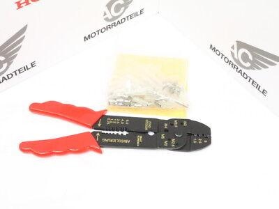 Mains Terminal Block Cable Connectors Set Pliers + Japan Plug 100 Pcs Loom Wire