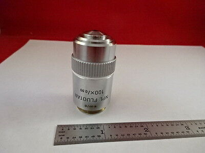 Microscope Part Objective Leitz Germany Fluotar 100x Infini Optics As Is F2-a-9