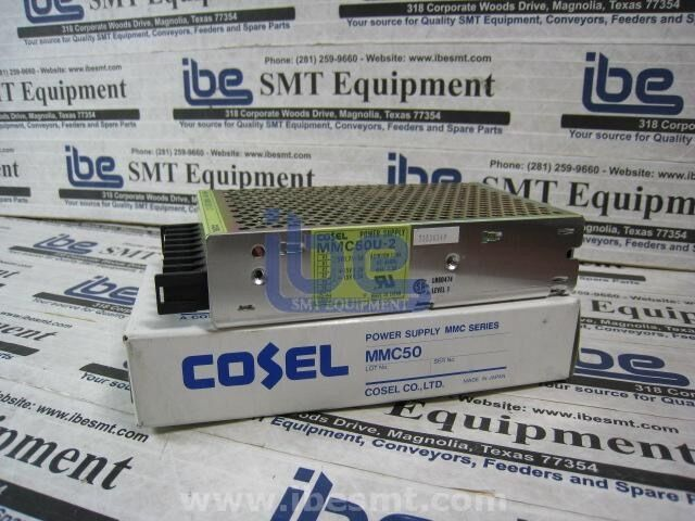 Lot of 3 Cosel 15V Power SupplyMMC50U-2