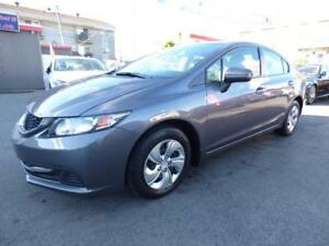 2014 HONDA CIVIC BERLINE LX (AUTOMATIQUE, 93,000 KM, FULL!!!)