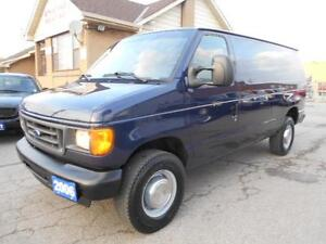 2006 FORD Econoline E250 Cargo Loaded 4.6L V8 ONLY 21,000KMs
