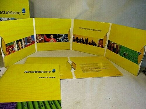 Rosetta Stone Espanol Spanish (Latin America)Level 1-5 Set Version 3 Excellent