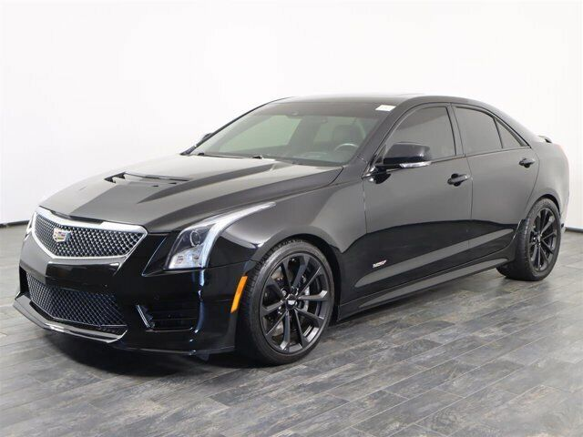 Off Lease Only 2017 Cadillac ATS 3.6L V RWD Turbocharged Gas V6 3.6L/217