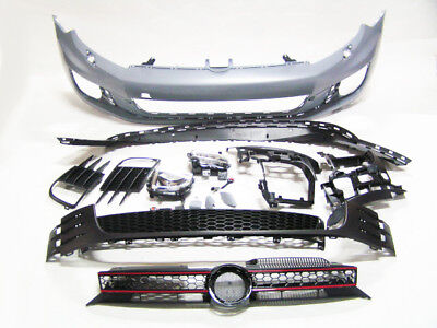 Golf 6 VI MK6 10-14 GTI Look Front Bumper with Grille