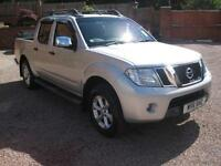 2011 11 Nissan Navara 2.5dCi Tekna Double Cab Pick up Silver Metallic