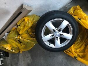 MERCEDES MAGS AND TIRES