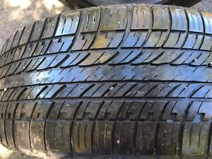 "Two 20"" 265/50R all season Hankook tires great condition"