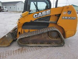 Used 2012 Case TR320 Skid Steer W/ Cab and tracks