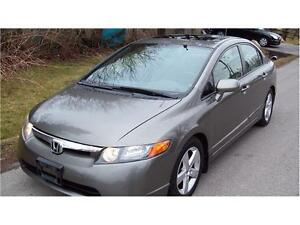 2006 Honda Civic Sdn EX SUNROOF, AUTO,P.GROUP ,MINT,CERT$4475