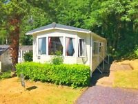 STATIC CARAVAN FOR SALE IN NORTH WALES - 5* PARK IN SNOWDONIA FOOTHILLS-PET FRIENDLY -OPEN 12 MONTHS