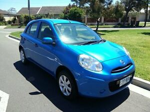 2011 Nissan Micra K13 ST Blue 4 Speed Automatic Hatchback North Brighton Holdfast Bay Preview