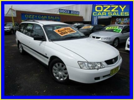 2003 Holden Commodore VY Executive White 4 Speed Automatic Wagon Minto Campbelltown Area Preview