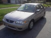 2001 Toyota Corolla For Sale!