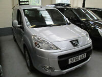 60 PEUGEOT PARTNER WHEELCHAIR ADAPTED 50 + ADAPTED VEHICLES IN STOCK