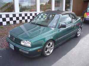 Want to buy: 1995-1999 Volkswagen VW Cabrio Convertible