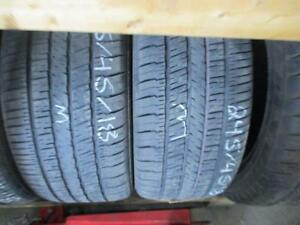 245/45R18 SET OF 4 USED GOODYEAR A/S TIRES