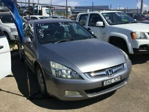2006 Honda Accord 7th Gen MY06 V6 Luxury Silver 5 Speed Automatic Sedan Wickham Newcastle Area Preview