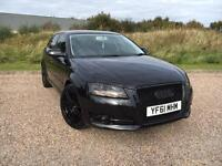 AUDI A3 1.6 TDI SPORT 3 DOOR 2011 61 *175 BHP, £££THOUSANDS SPENT ON EXTRAS*