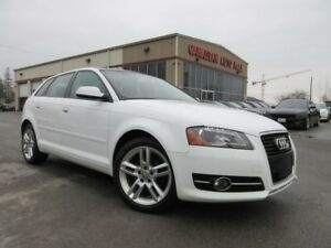 2012 Audi A3 TDI PROGRESSIV, ROOF, LEATHER!