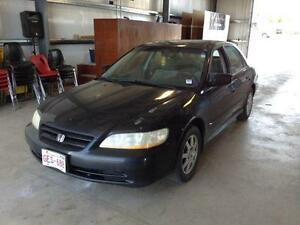 parting out 2002 honda accord