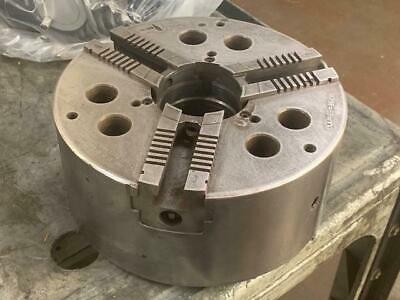 S-p Mfg 10 3-jaw Universal Speed Close Power Lathe Chuck A-8 Mount Used