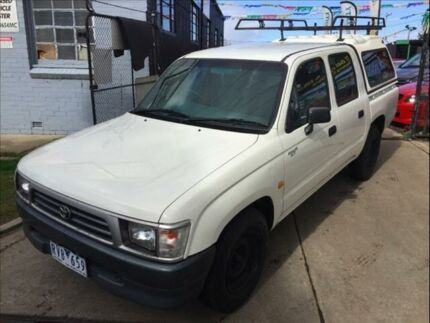 1998 Toyota Hilux RZN149R RZN149R 5 Speed Manual Footscray Maribyrnong Area Preview