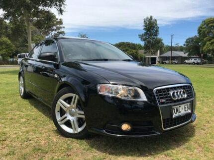 2007 Audi A4 B7 S Line Tiptronic Quattro Black 6 Speed Sports Automatic Sedan Somerton Park Holdfast Bay Preview