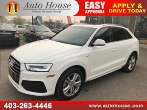 2016 AUDI Q3 TECHNIK TFSI QUATTRO NAVIGATION BACKUP CAMERA
