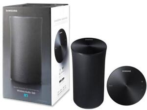 Samsung Radiant360 R1 Wi-Fi/Bluetooth Speaker - Dark Grey
