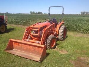 2007 Kubota L3540 4X4 Loader Tractor