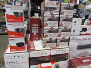 60% OFF ! ! Large quantity of Surveillance Cameras and more!