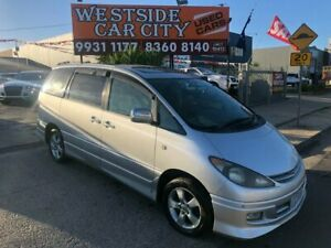 2001 Toyota Estima ACR30 Aeras Silver 4 Speed Automatic Wagon Hoppers Crossing Wyndham Area Preview