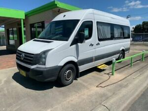 2012 Volkswagen Crafter MOTORHOME White 6 Speed Automatic Panel Van Casino Richmond Valley Preview