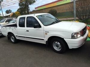 2003 Ford Courier PG XL White 5 Speed Manual Super Cab Pick-up Campbelltown Campbelltown Area Preview