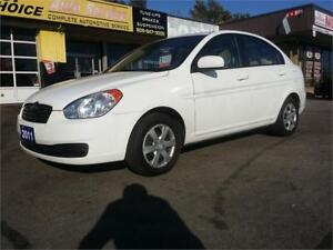2011 Hyundai Accent L Sedan, Great Condition, Only 124 km!!!
