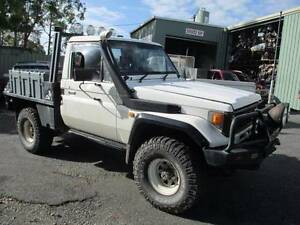 "Toyota Land Cruiser 4x4 95 HZJ75 TRAY DIESEL 5 SPEED  35"" WRECK Toormina Coffs Harbour City Preview"
