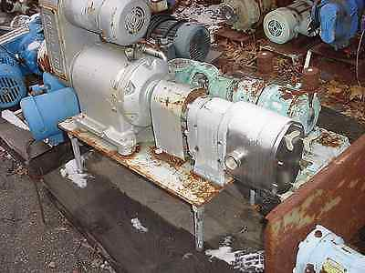 1.5 Inch Waukesha Stainless Steel Positive Displacement Pump Model 250
