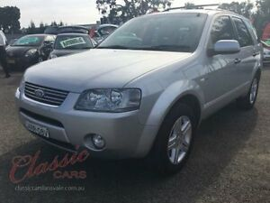 2005 Ford Territory SX Ghia (4x4) Silver 4 Speed Auto Seq Sportshift Wagon Lansvale Liverpool Area Preview