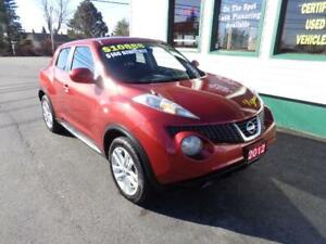 2012 Nissan JUKE SV AWD with low kms! $146 bi-weekly all in! 4yr
