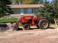 ALLIS CHALMERS 160 TRACTOR with 3Pt, Hitch, PTO, Diesel
