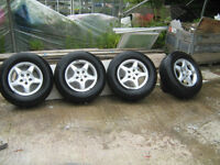 mercedes ml vito alloy wheels with tyres