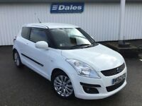 Suzuki Swift 1.2 SZ4 3Dr Hatchback (superior white-26u) 2012