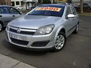 2004 Holden Astra AH CD Silver 5 Speed Manual Hatchback Essendon North Moonee Valley Preview