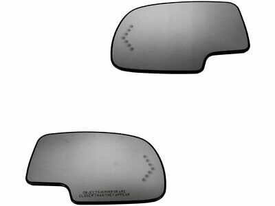 For 2003-2006 Cadillac Escalade ESV Door Mirror Glass Set 42597PJ 2004 2005