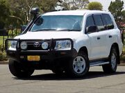 2015 Toyota Landcruiser VDJ200R MY13 GX White 6 Speed Sports Automatic Wagon Enfield Port Adelaide Area Preview
