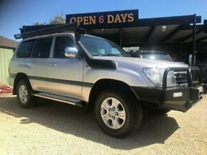 2004 Toyota Landcruiser HDJ100R GXL (4x4) Silver 5 Speed Automatic Wagon Islington Newcastle Area Preview