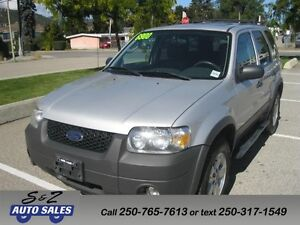 2006 Ford Escape XLT 4WD LOCAL 1 OWNER!