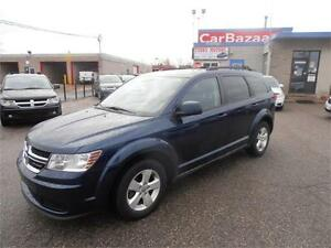 2014 DODGE JOURNEY SE PLUS 4 CYL GREAT ON GAS EASY FINANCE