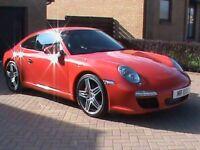PORSCHE 911 CARRERA 3.8 S2 GEN 2,RED 1 YRS MOT,FULL PORSCHE SERVICE HISTORY,CLICK ON VIDEO LINK