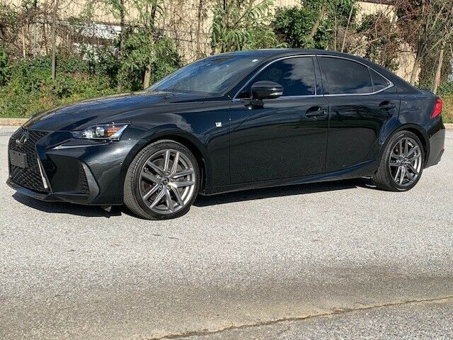 2017 LEXUS IS300 AWD F SPORT ONLY 35K MILES V6 ABSOLUTELY GORGEOUS